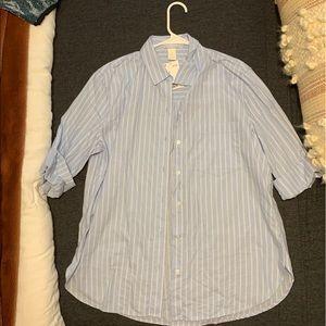 Long sleeve button down H&M blouse
